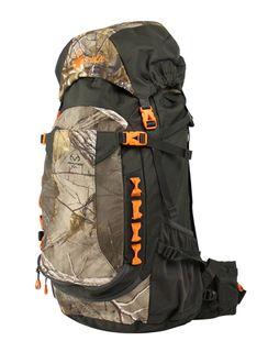 Spika Extreme Hunter 45L Backpack with 2L Hydration Bladder