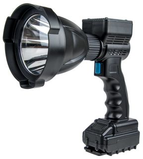 Night Saber 6500 Lumens Rechargeable & Corded Hand-Held 120mm 65w LED Spotlight