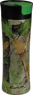 Rivers Edge Travel Mug 16OZ SS Green Camo