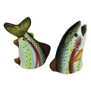 Rivers Edge Trout Salt & Pepper Shakers