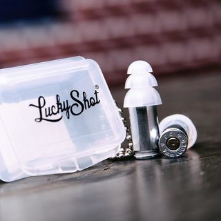 Lucky Shot 9MM REAL Bullet Earplugs