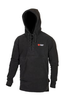 Stoney Creek Lace Up Fleece Hood - Black