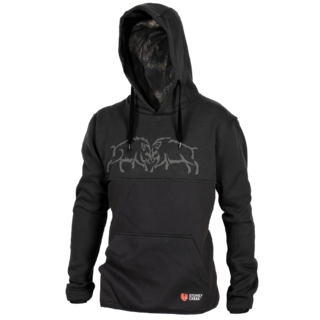 Stoney Creek Fighting Boar Hoodie - Black