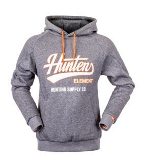 Hunters Element Standard Issue Hoodie - Grey Marle
