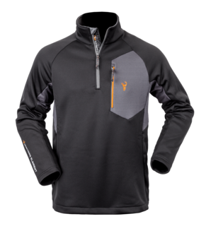 Hunters Element Velocity Top - Black/Grey