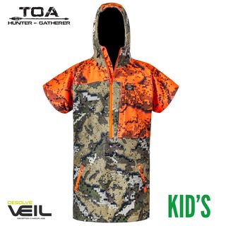 Hunters Element Kids Tapua Bush Coat - Desolve Veil