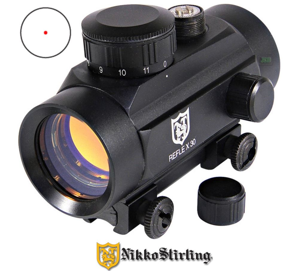 Nikko Stirling Reflex 1x30mm Red Dot Sight