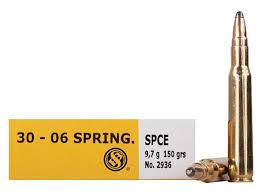 S & B Sellier & Bellot 30-06 150gr SPCE
