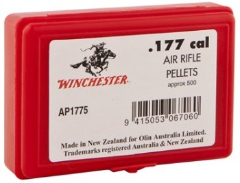 Winchester Round Nose Airgun Pellets - .177 Cal