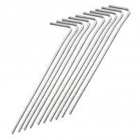 KIWI CAMPING Steel Pegs 25cm/30cm 10 pack