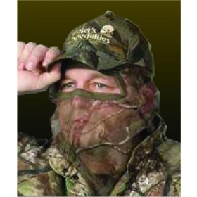 Hunter's Specialties Camo Flex Form II Net 3/4 Face Mask