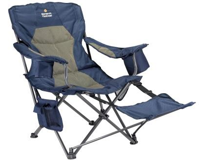 OzTrail Monarch Armchair with Footrest