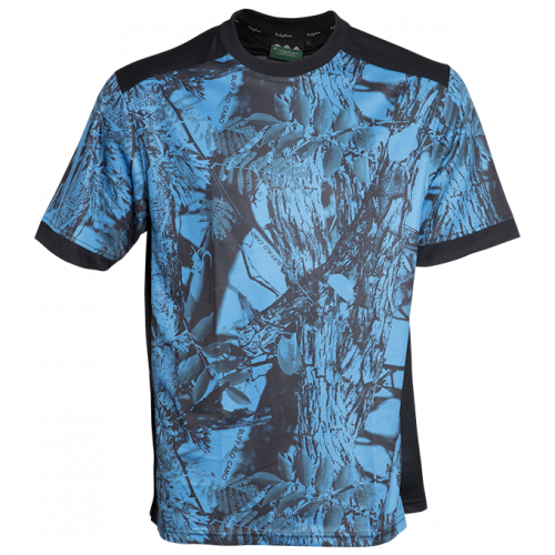 Ridgeline Mens Breeze Tee - Blue Camo