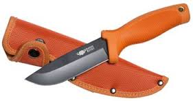 Buffalo River Maxim Skinner Knife - Orange