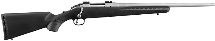Ruger American Compact Stainless Steel Synthetic Rifle