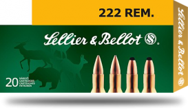 Sellier & Bellot 222Rem 50gr SP