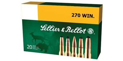 Sellier & Bellot 270Win 130gr SP