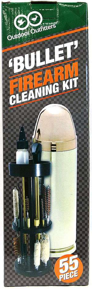 Outdoor Outfitters Bullet Firearm Cleaning Kit