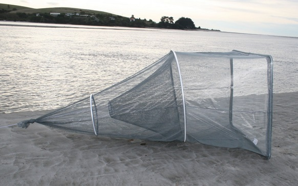 Fishfighter Whitebait Net Sock With One Trap