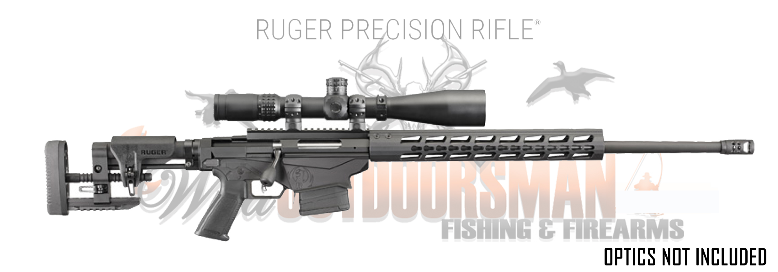 NEW Model Ruger Precision Rifle 6.5 Creedmoor