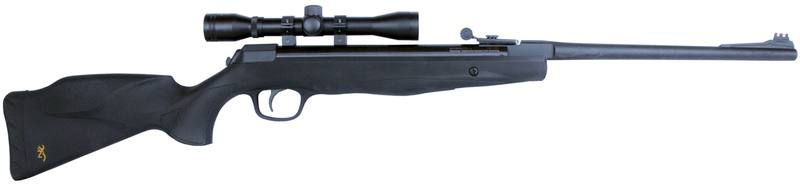 Browning X-Blade II .177 with 4x32 Scope: Gas Piston