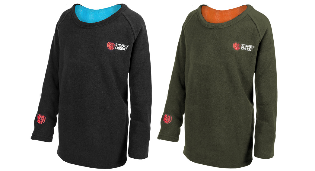 Stoney Creek Kids Performance+ Long Sleeve Tee Black/Olive