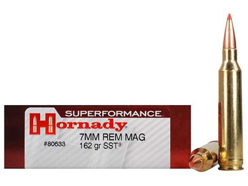 Hornady Superformance 7mm Rem Mag 162gr SST