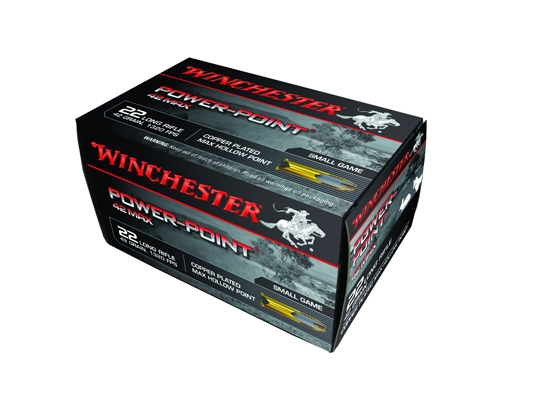 Winchester Power Point Max .22LR 42gr HP CP