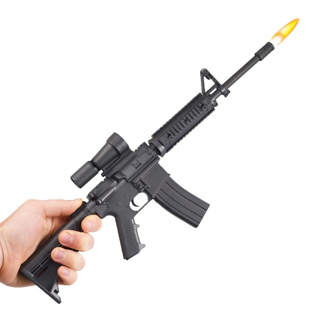 Gibson AR-15 Gun BBQ Lighter