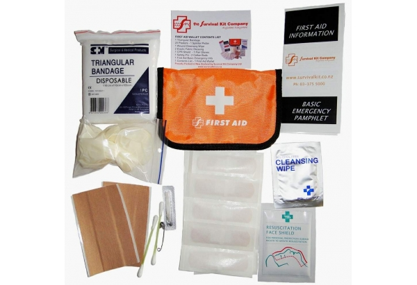 Survival Kit Co - First Aid Kit - Wallet