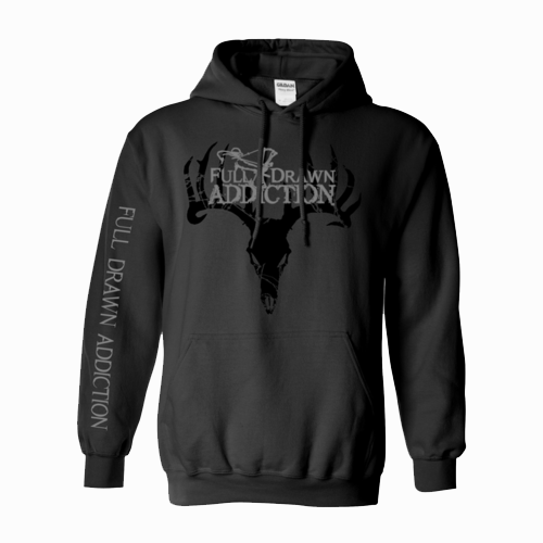 Full Drawn Addiction Hoodie - Charcoal