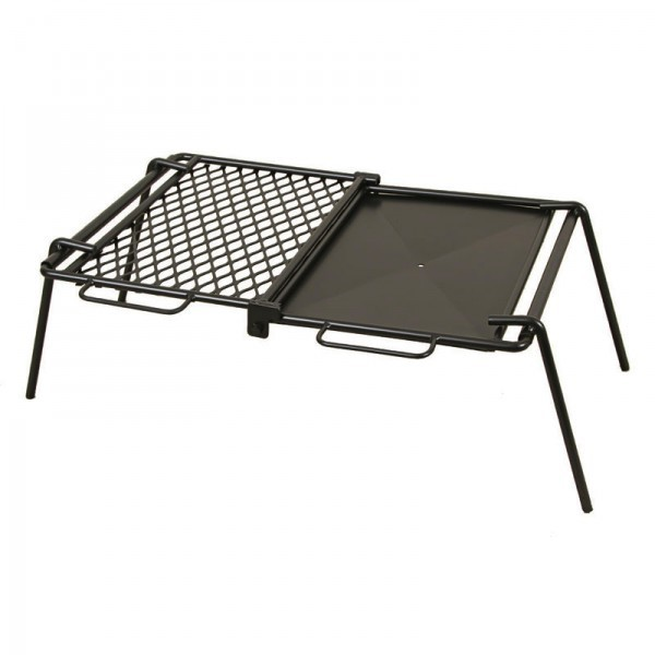 Campfire Folding Flate Plate & Grill Cooker
