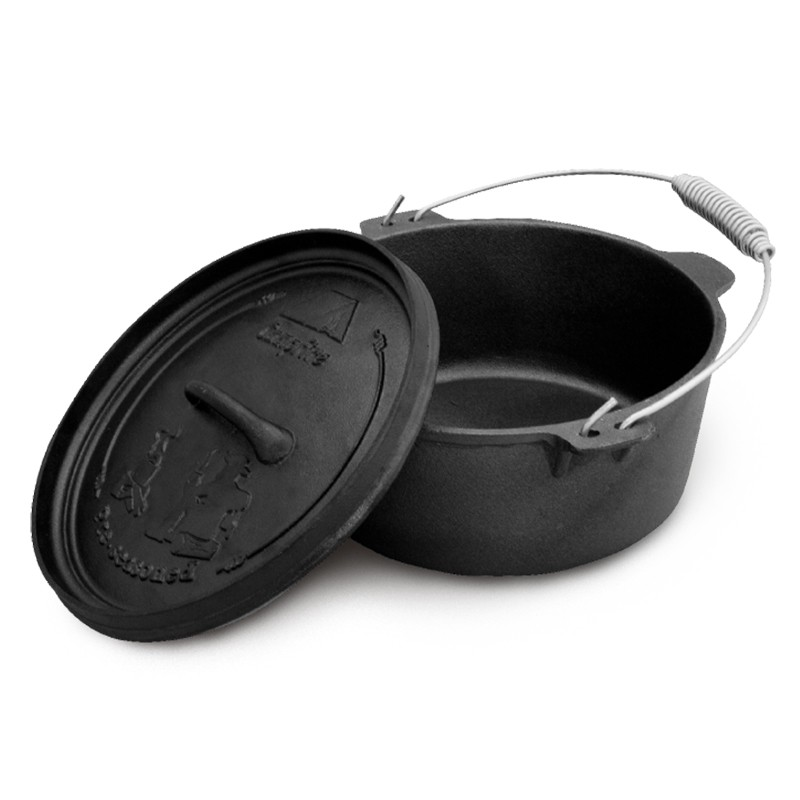 Campfire Cast Iron Camp Oven 9 Quart