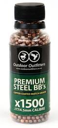 Premium Steel BB'S Copper Coated Match Grade BB'S X1500