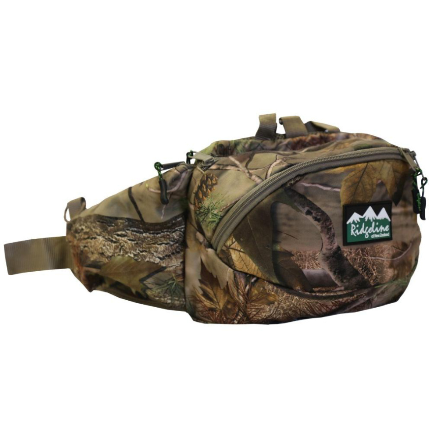 Ridgeline Haul All Bumbag with Meat Safe - Nature Green