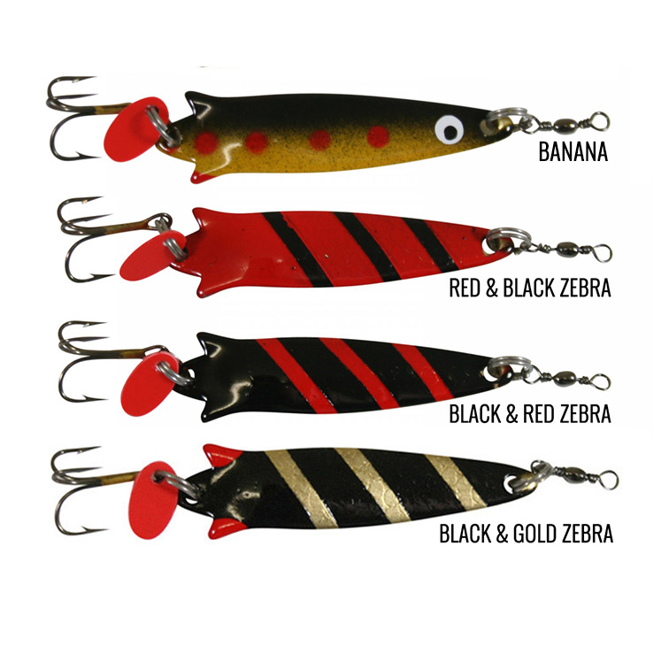 Fishfighter Toby Lures - 14gm Mounted