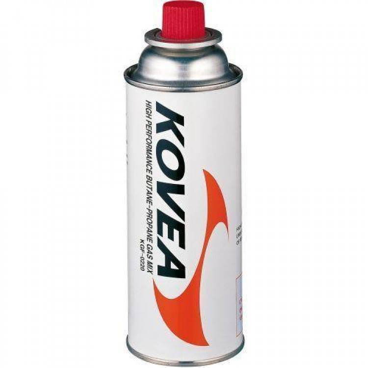 Kovea 220g High Performance Butane Propane Gas Nozzle Canister