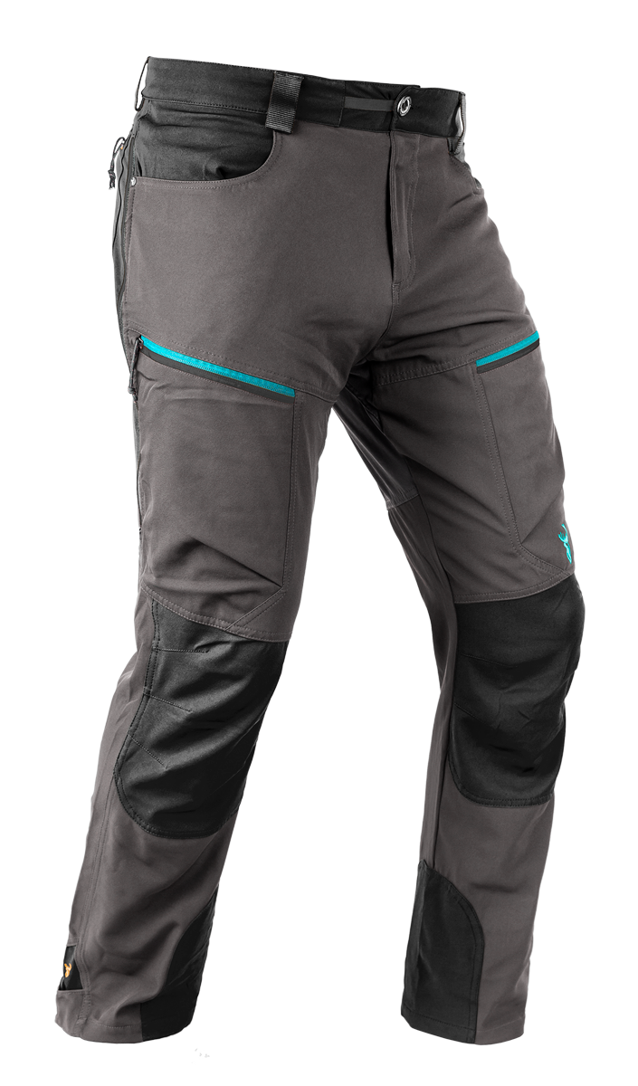 Hunters Element Women's Boulder Trousers - Grey/Black
