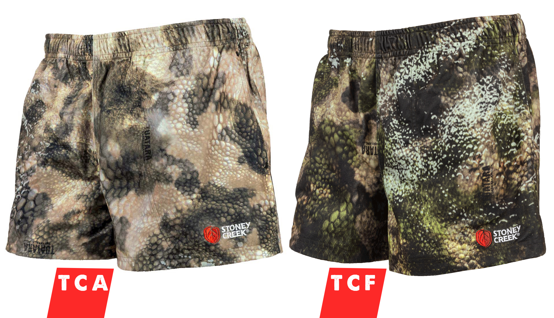 Stoney Creek Microtough Original Shorts - Tuatara Camo