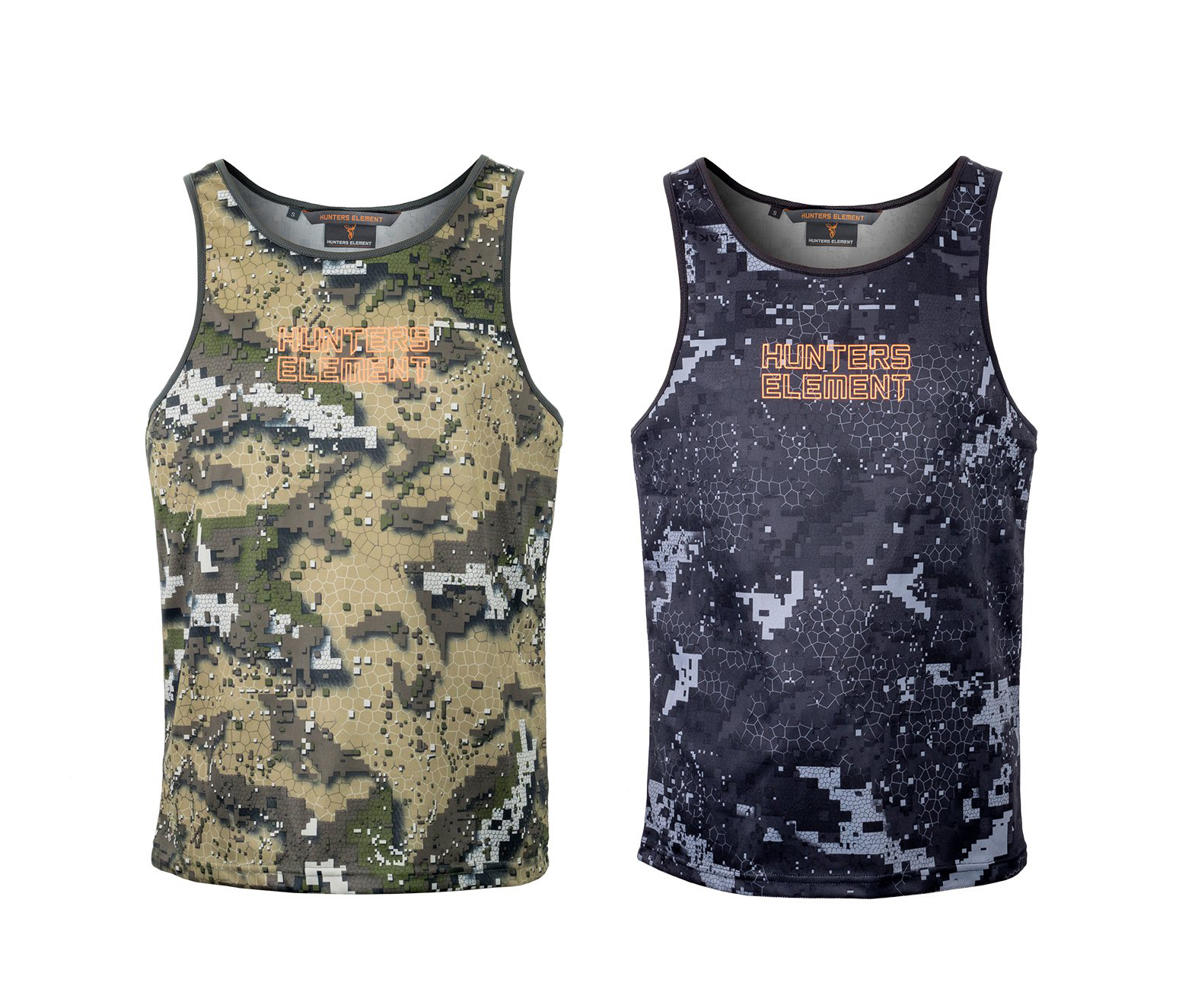 Hunters Element Eclipse Singlet - Camo